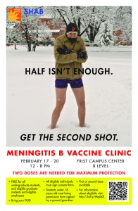 Teens and young adults need two different kinds of meningococcal vaccines to get full protection.