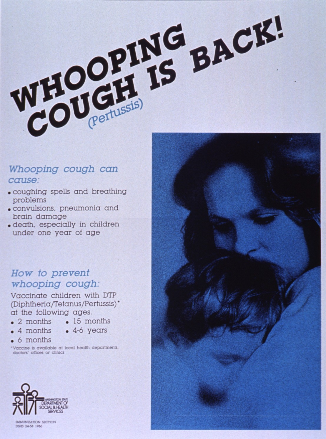 Whooping cough is back!