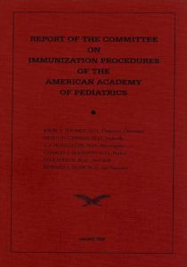 The AAP published their first recommendations on vaccines in 1938.