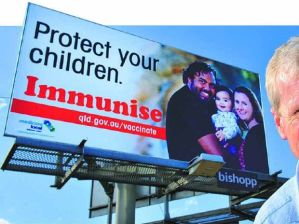Protect your children. Immunise.