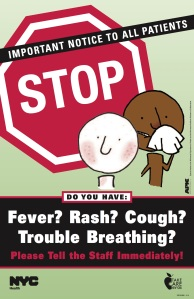 Be sure to alert your pediatrician if you think your child might have measles or another vaccine-preventable disease.