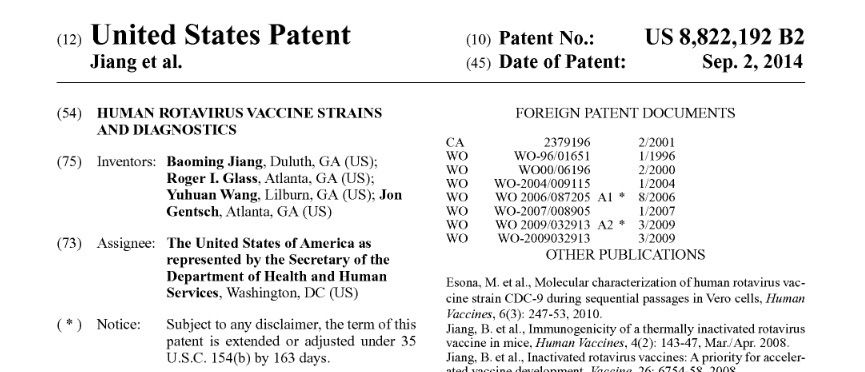 Patents of vaccines and vaccine technology are not the big deal that anti-vaccine folks make them out to be.