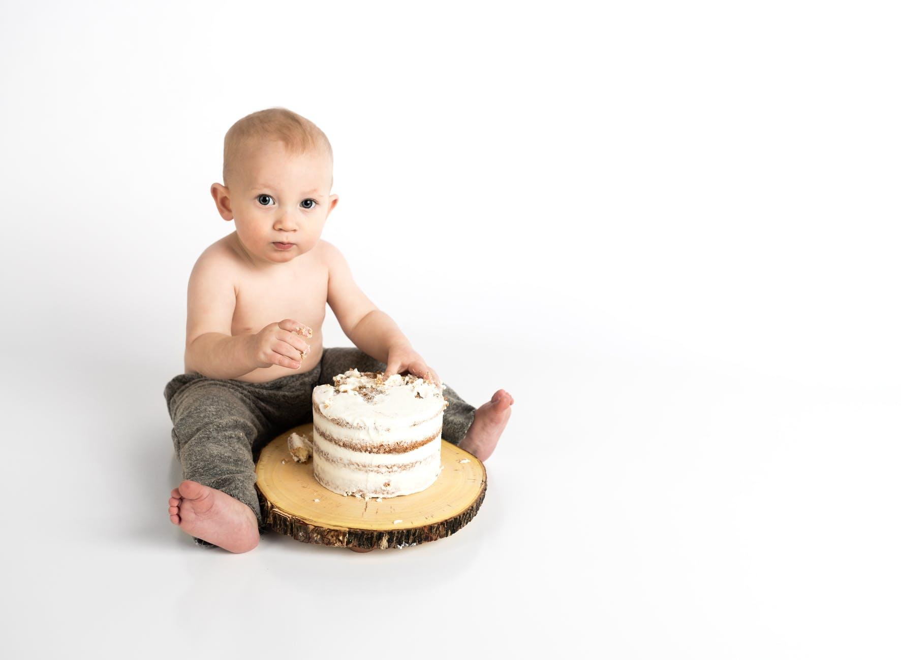 baby boy cake child