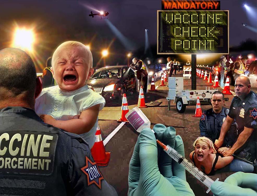 Mandating vaccines unconstitutional