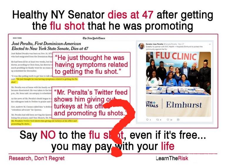 Liten risk for ny influensavag